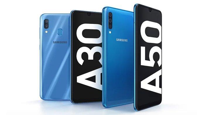 Perbandingan Spesifikasi Samsung Galaxy A30 dan A50 Berlayar Bezelless Infinity-U, Mana Favoritmu?