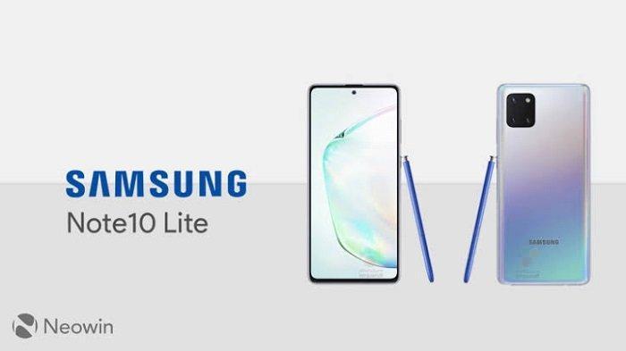 Samsung Galaxy Note Versi Murah Siap Hadir, Simak Bocoran Spesifikasi & Penampakan Note 10 Lite