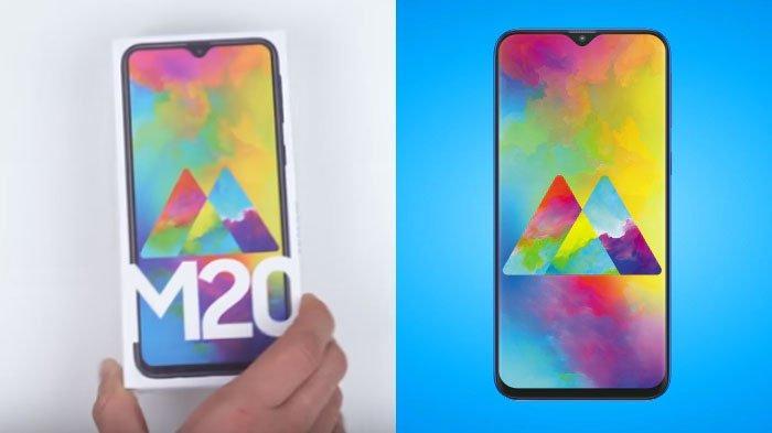 Samsung M20 Resmi Rilis di Indonesia, Begini Kesan Pertama Unboxing Smartphone Terbaru 2019
