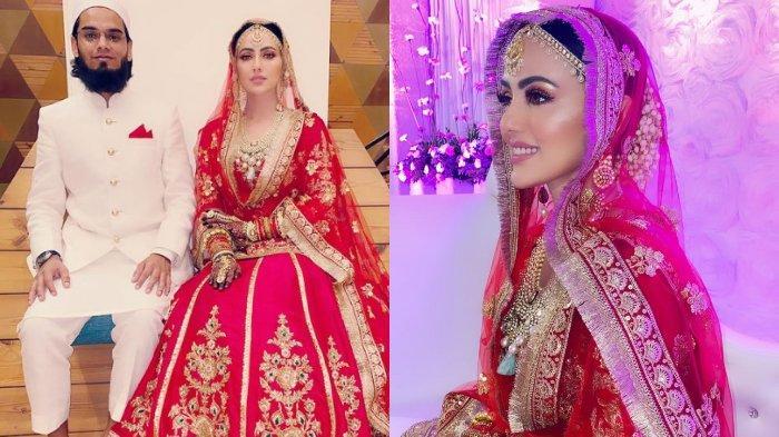 PROFIL Sana Khan, Aktris Cantik yang Hijrah & Tinggalkan Dunia Hiburan, Kini Dinikahi Ulama Terkenal