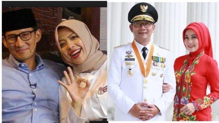 Beda Reaksi Istri Sandiaga Uno dan Istri Ridwan Kamil Saat Wanita Lain Ingin Jadi Istri Kedua Suami