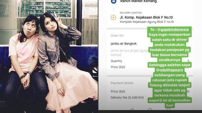 Gara-gara Mau Beli Buah, Asisten Sandra Dewi Ditipu Oknum Ojol hingga Ratusan Juta