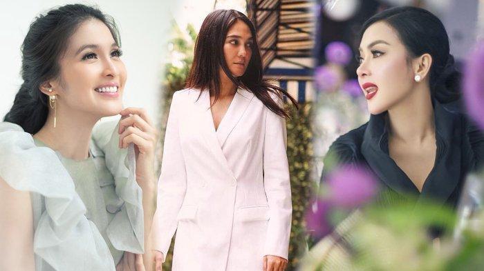 Sama-sama Mantan Reino Barack, Ini Beda Sikap Luna Maya di Hari Ulang Tahun Sandra Dewi & Syahrini