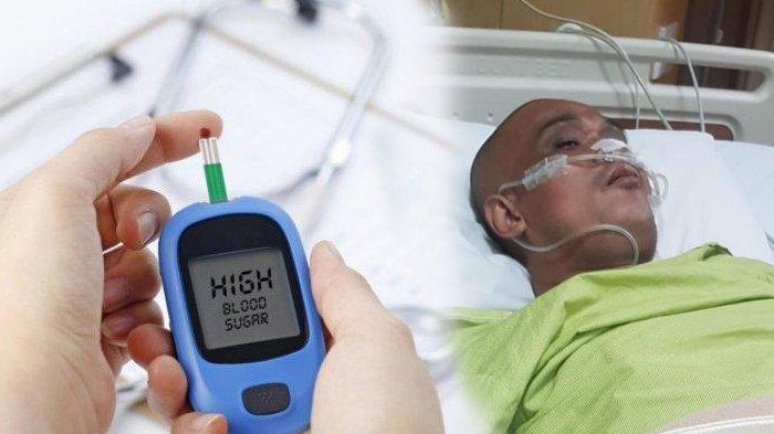 Sapri Pesbuker dirawat di ICU.