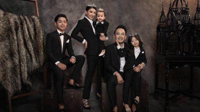 Potret keluarga Ruben Onsu