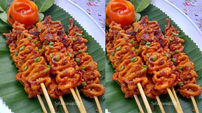 Resep Sate Usus Ayam Bumbu Pedas Camilan Nikmat Saat Santap Di Sore Hari Praktis Banget Tribunstyle Com