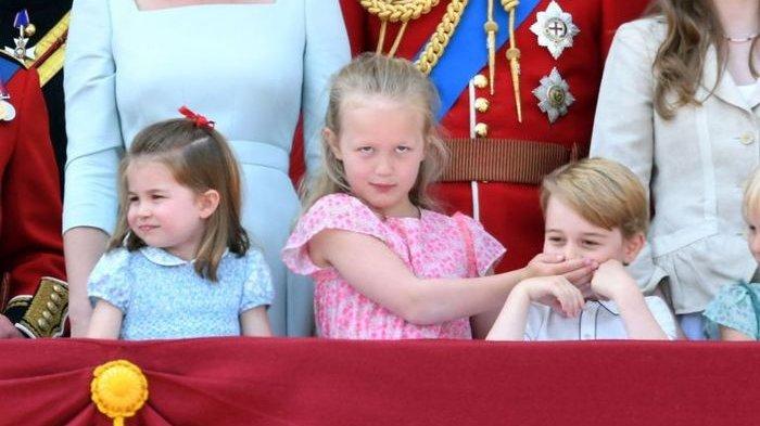 Usai Aksi Bungkam Mulut, Savannah Phillips Berbuat Jahil Lagi kepada Pangeran George