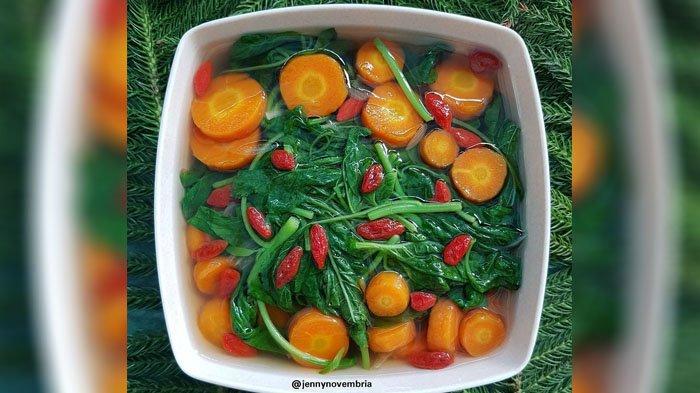 Resep Sayur Bening Bayam Wortel Menu Makan Segar Dan Menyehatkan Bikin Di Rumah Yuk Tribunstyle Com
