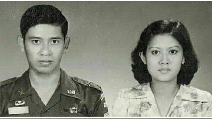 SBY dan Ani Yudhoyono saat masih muda