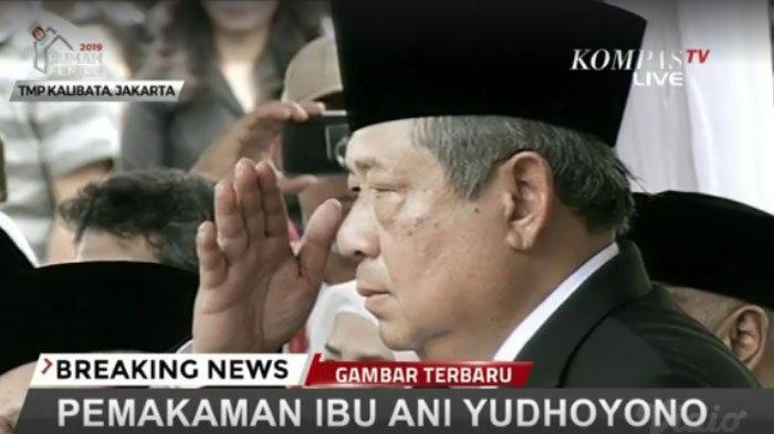 Hormat terakhir SBY pada istri