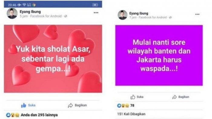 Sosok Eyang Ibung Trending Setelah Gempa Banten, Warganet Ungkap Kangen dengan Sutopo Purwo Nugroho