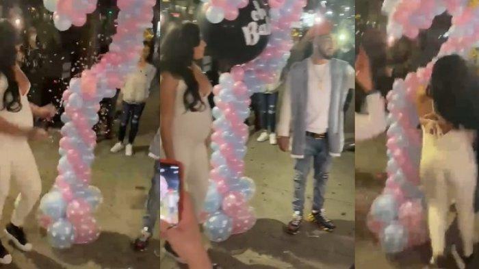 Sebuah video memperlihatkan seorang istri hamil jatuh tersungkur setelah ditabrak teman mendapat perhatian dari pengguna TikTok.