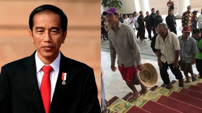 Apa Adanya, Tukang Becak Bersilaturahim dengan Joko Widodo: Saya Mau Doakan Presiden Selamat