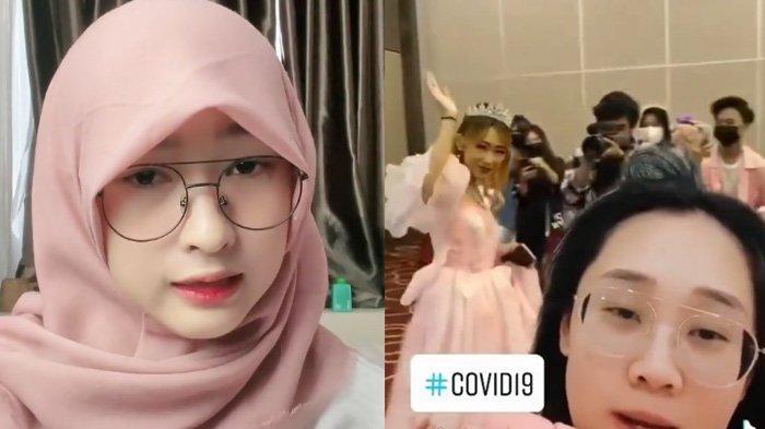 Seleb TikTok Juy Putri dipanggil polisi karena gelar pesta ulang tahun di saat PPKM.