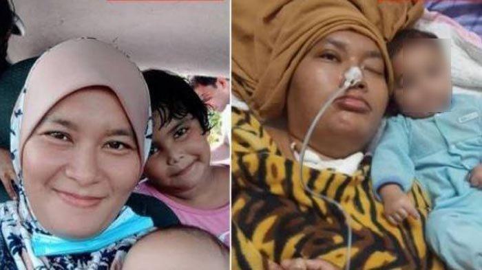 KISAH Pilu, Ibu Muda Jatuh saat Buatkan Susu Anak Jam 3 Pagi, Usai 3 Bulan Koma Kini Meninggal Dunia