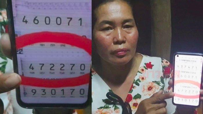 Berawal dari Mimpi, Wanita Ini Dapatkan Rp 2,7 Miliar, Niat ke Pasar Pulangnya Mampir ke Toko Lotre!