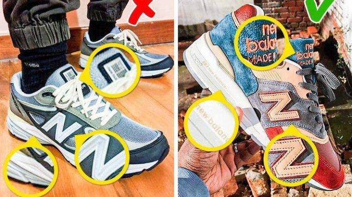 Tahukah Kalian Ini Tanda Sepatu New Balance Palsu Hingga Tas Michael Kors KW