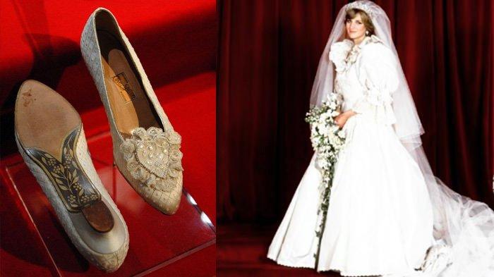 Pesan Tersembunyi di Balik Sepatu Penikahan Putri Diana dan Pangeran Charles, Fakta Baru Terungkap
