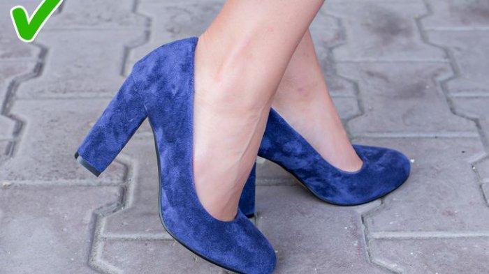 Sepatu Tumit Chunky