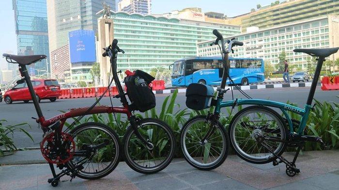 Keistimewaan Kreuz, Sepeda Buatan Indonesia yang Disebut Saingi Brompton, Jokowi Juga Pesan