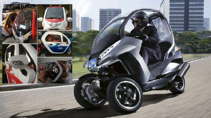 Sepeda Motor Roda Tiga Rasa Mobil Seharga Rp 32 5 Juta Mau Di Sini Belinya Tribunstyle Com