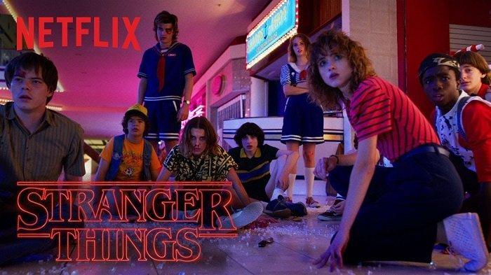Serial TV Netflix Stranger Things.