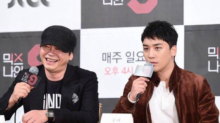 Posting Foto Bareng, Yang Hyun Suk Panggil Seungri Big Bang 'Bos', Fans Makin Yakin Ini Akan Terjadi