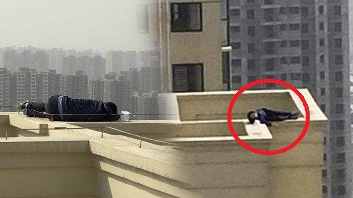 Bagaimana Bisa Pria Ini Selamat Setelah Mabuk & Tertidur di Atap Lantai 29 yang Sempit, Ternyata!