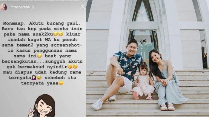Beda Sikap Samuel Zylgwyn Soal Nama Anak, Sharena Delon Minta Maaf Ke Franda 'Gak Bermaksud Nyindir'