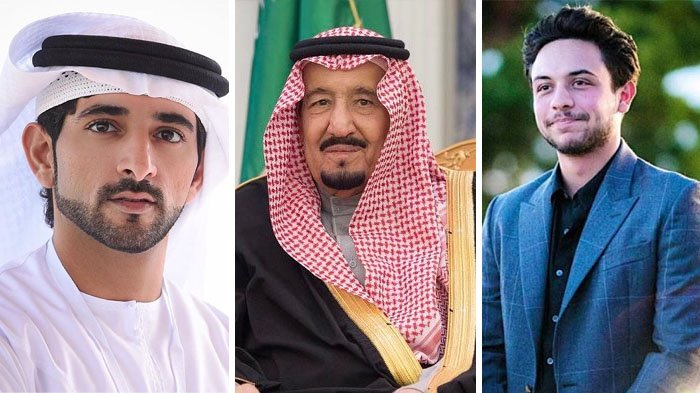 Begini Bangsawan Timur Tengah Merayakan Idul Fitri 2018, Termasuk Raja Salman dan Para Pangeran