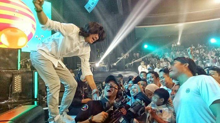 Konser 22 Tahun Sheila On 7 Sebuah Kisah Klasih di Balai Sarbini Jakarta, Jumat 14 September 2018 malam.