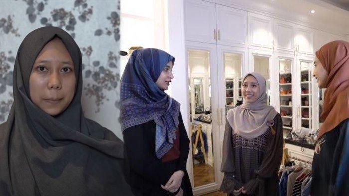 GERAM ART Ditinggal Suami saat Hamil, Shireen & Zaskia Sungkar Make Over si Mbak, Hasilnya Memukau!