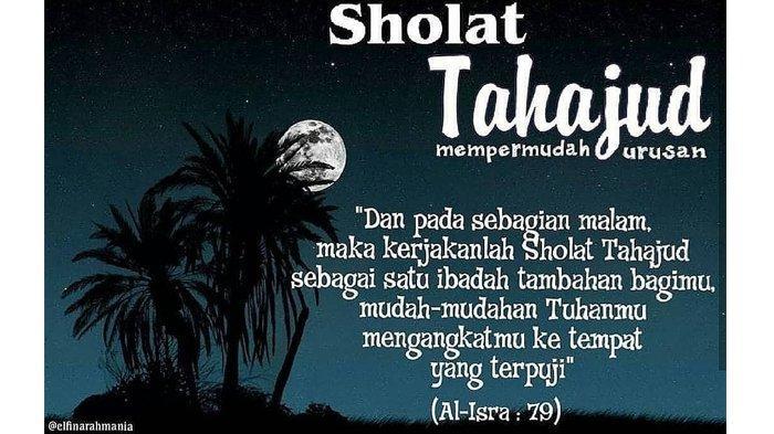 Sholat Tahajud - Ustaz Abdul Somad Jelaskan Waktu Paling Utama dan Kemuliaan, Lengkap Tata Caranya