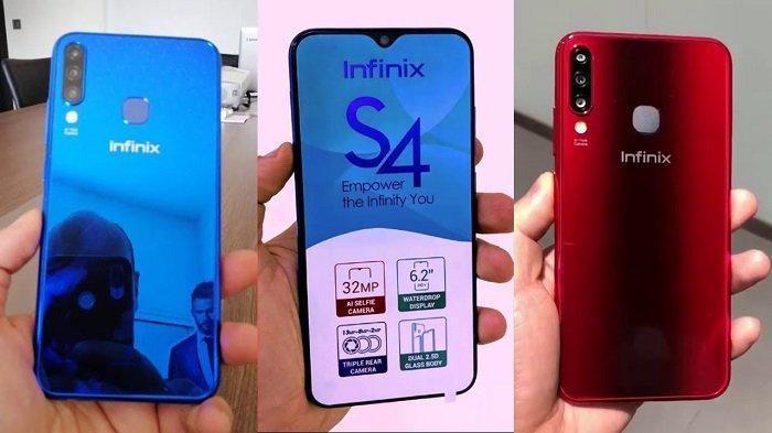 Simak Penampakan Harga Spesifikasi Infinix S4 Dibekali Triple Kamera Dan Helio P22 Tribunstyle Com