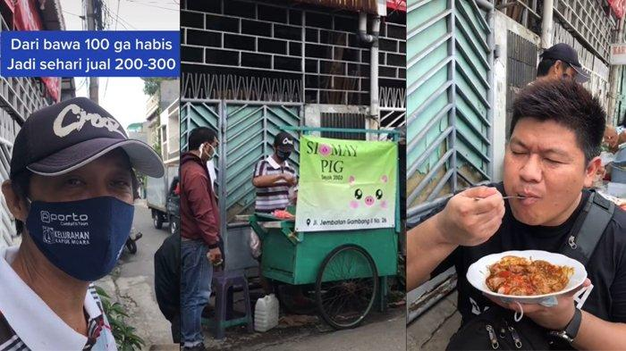 VIRAL! Siomay Babi Dulunya Sepi, Setelah Viral Justru Makin Ramai, 1 Jam Sudah Habis