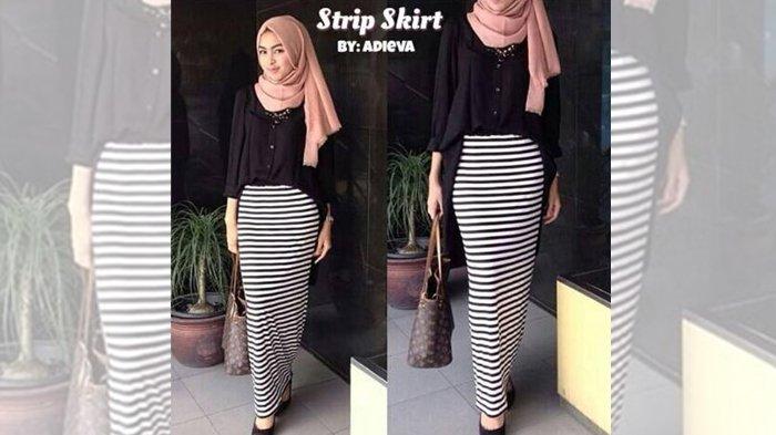 Fashion Wanita - Postur Tubuh Pendek dan Ingin Tampak Tinggi Ramping? Pakai Skinny Skirt Ini, Girls!