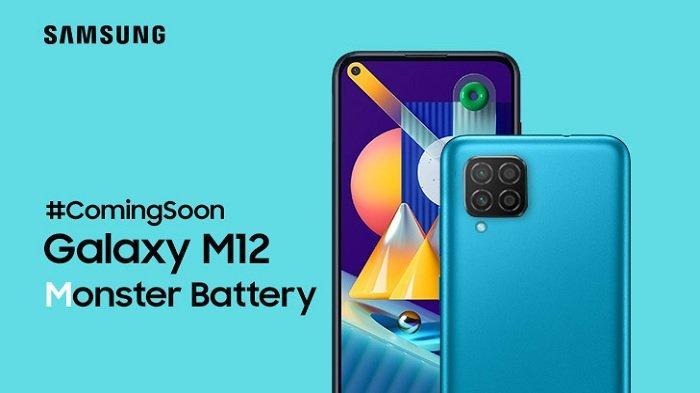 SMARTPHONE Murah Meriah Terbaru Samsung, Bocoran Spesifikasi Galaxy M12, Baterai Jumbo & 4 Kamera