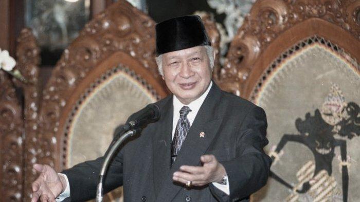 Soeharto, presiden kedua Indonesia.
