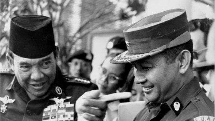 Soekarno dan Soeharto