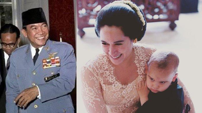 Soekarno, Kartika Sari Dewi Soekarno, dan Frederik Kiran Soekarno