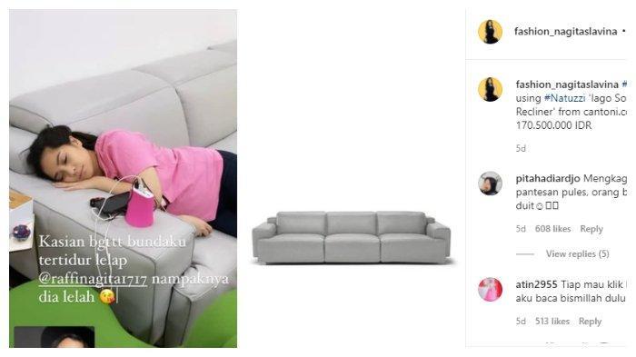 Sofa yang bikin Gigi nyaman