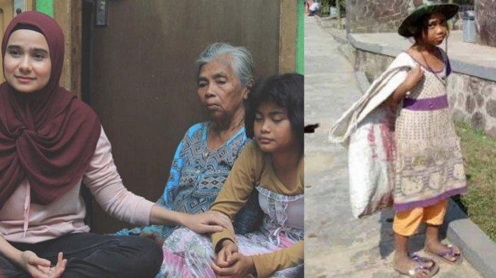 Sonya Fatmala bertemu Nabila gadis pemulung