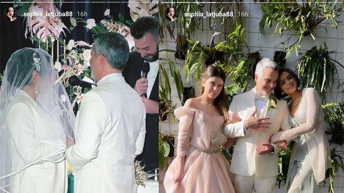 Sophia Latjuba menghadiri acara pernikahan mantan suaminya. (Instagram Sophia Latjuba)
