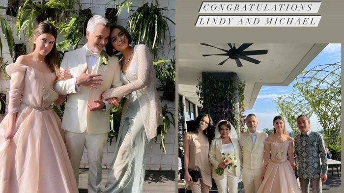 Sophia Latjuba menghadiri acara pernikahan mantan suaminya.