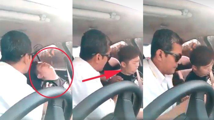 Viral Video Pria Naik Taksi Tiba-tiba Tak Sadarkan Diri, Saat Sopir Coba Bangunkan, Hal Aneh Terjadi