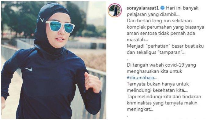 Lari Pagi, Soraya Larasati Curhat Alami Pelecehan Seksual dari Pengendara Motor: 'Shock Banget'