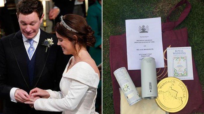 Penjualan Souvenir Pernikahan Eugenie dan Jack Tak Bisa Samai Capaian Harry-Meghan