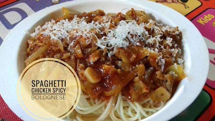 Resep Spaghetti Chicken Bolognese - Tambah Bumbu Pedas Bikin Makan Siangmu Jadi Lengkap ...
