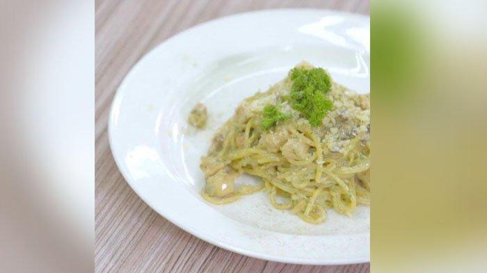 Resep Spaghetti Creamy Chicken Menu Makan Siang Ala Italia Tribunstyle Com