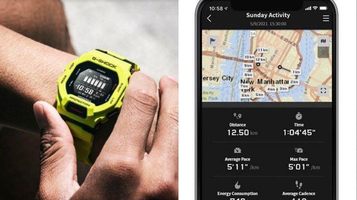 Casio Rilis Smartwatch G-SQUAD GBD-200, Simak Spesifikasi dan 4 Fitur Keunggulannya